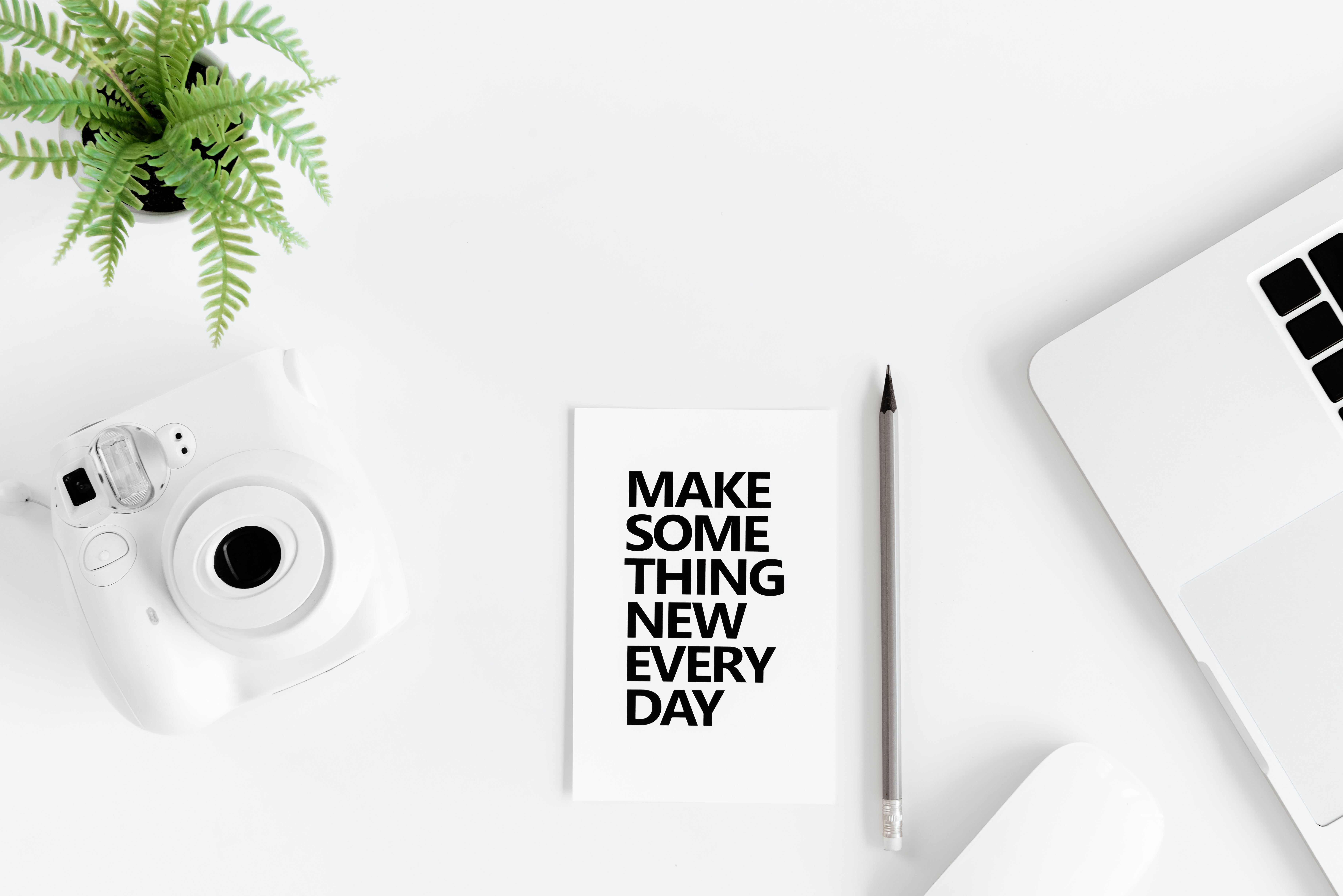 make something new every day