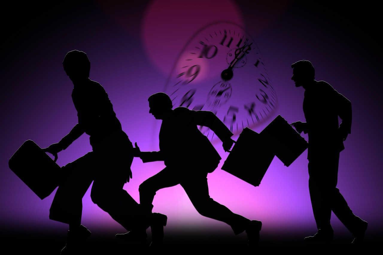the downward spiral of hustling only for work
