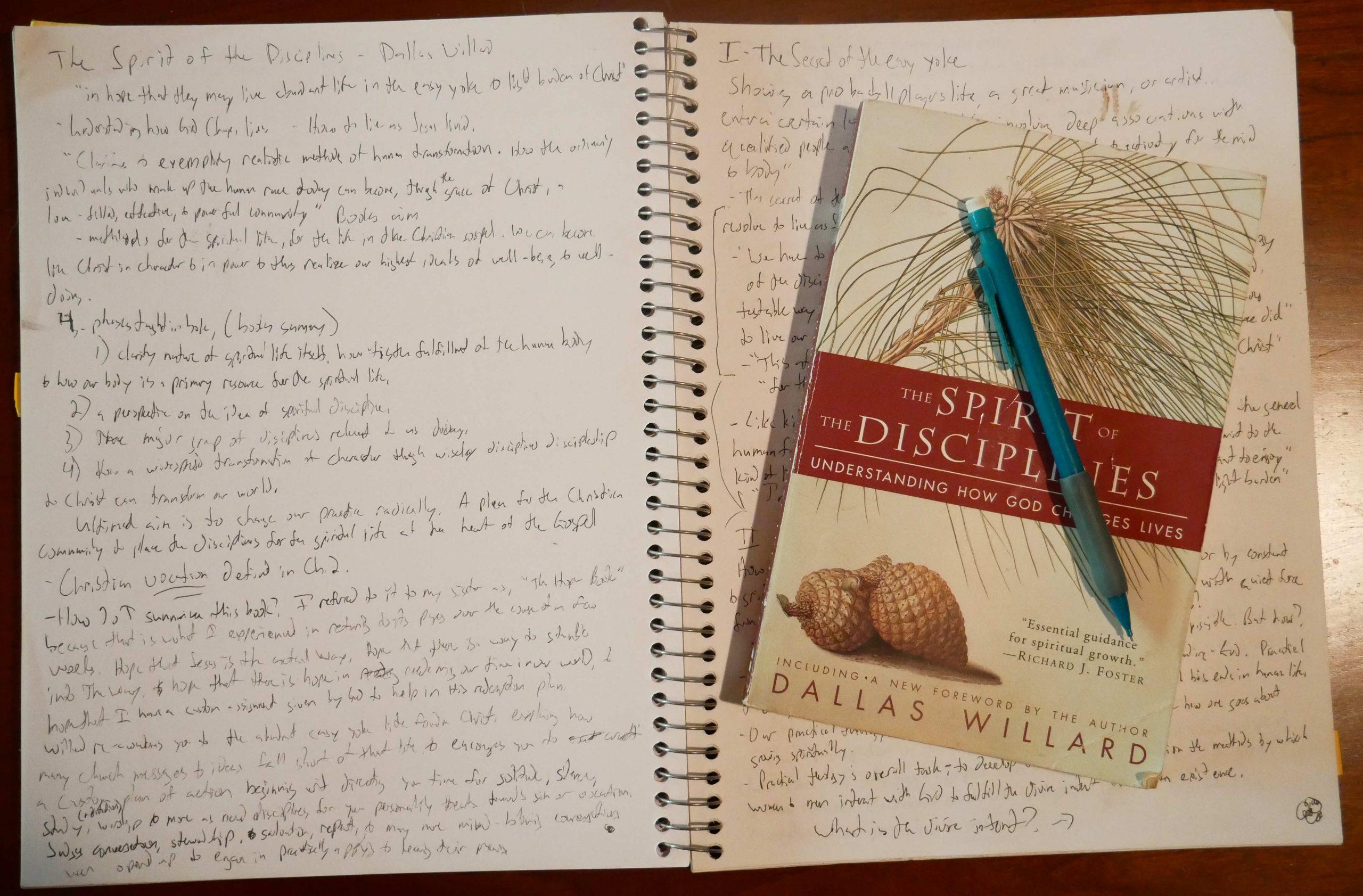 spirit of the disciplines themes